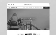 BellevueClub.com redesign project.